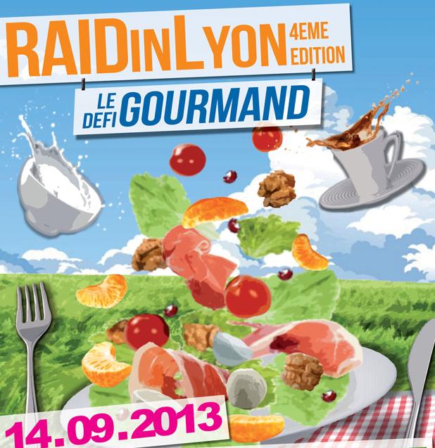 Affiche Raid in Lyon